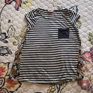Cap sleeve tee from Anthropologie
